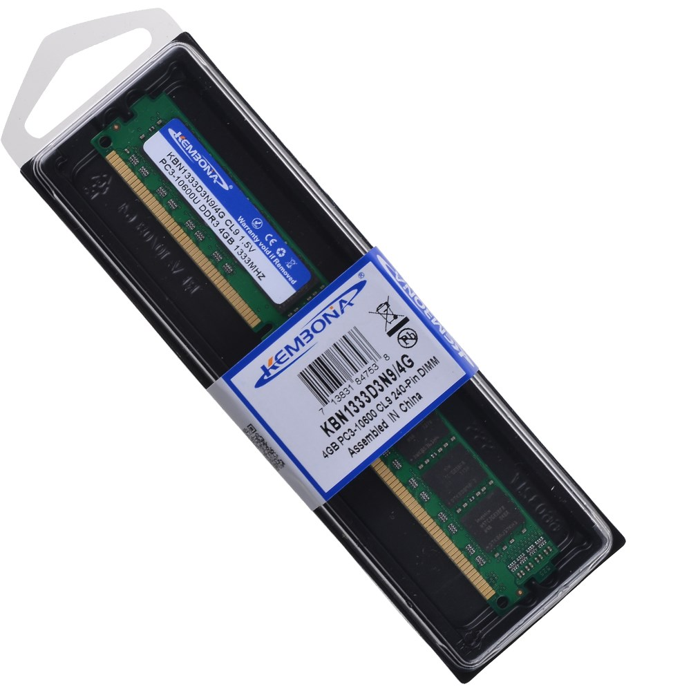 New and cheap 1333mhz pc3-10600 desktop memory ram 4gb ddr3