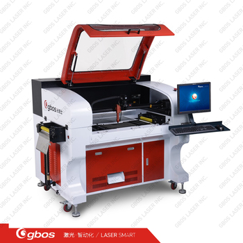 High perforamnce camera capture CNC CO2 laser cutter cutting machines for woven and embroidery label logo