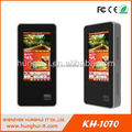 touchscreen advertisement display kiosk with led / e-brochure printing kiosk