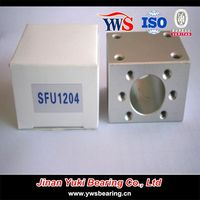Corrosion Resistance Anti-rust Aluminum Nut Housing for SFU 1204 SFU 1604 SFU 1605 SFU 2510 Ball Screw