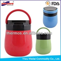 Plastic Body Glass Refill Thermos Food Container