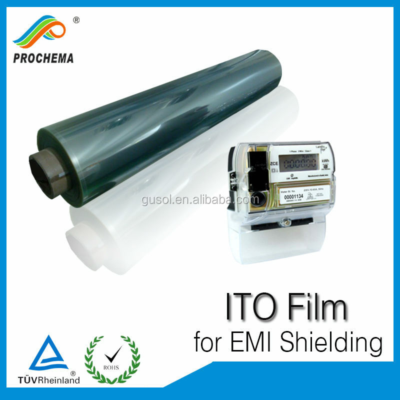 10 years factory price computer screen shielding metalized ito film