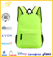 Wholesale fashion plain leisure back bag for men, college school backbag