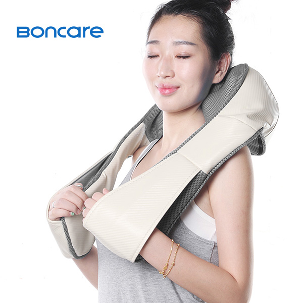 Neck Back Shoulder Shiatsu Heat Massager Body Kneading Cushion Pillow Massage