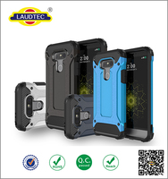 Factory Price Shockproof Armor TPU PC Combo Case For LG G5