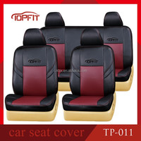 Latest Fashion Car Seat Covers Leather Car Seat Covers Black And Maroon Colour