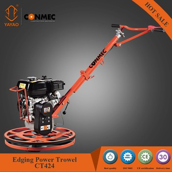 Concrete edging power trowel CT424 for troweling edge areas for sale