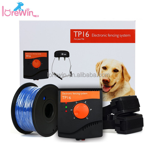 LoreWin TP16 Best Dog Safe Product Electric Shock And Beep Mode Invisible Dog Run Fence with Anti-Water Design