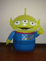 PVC inflatable robot model