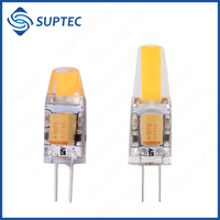 FREE SAMPLE 110LM/W 1.5W 1W COB G4 LED 12V DC AC 220VAC Bulb Lamp Light 2700K 110-120LM/W LED Light Bulb