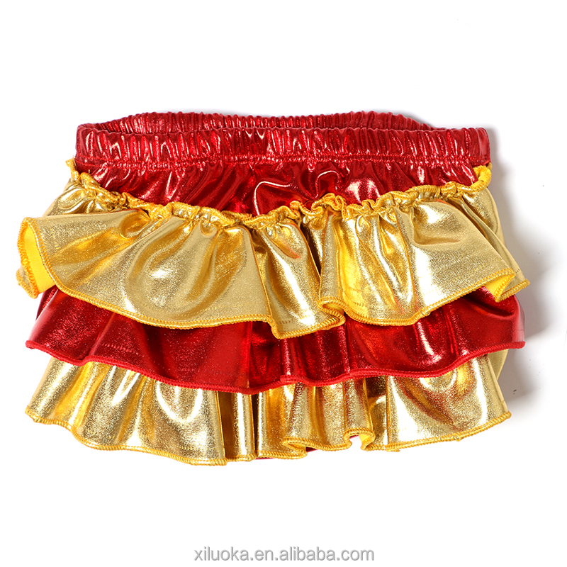 Lovely infant cloth diaper tutu ruffle panties newborn bloomers