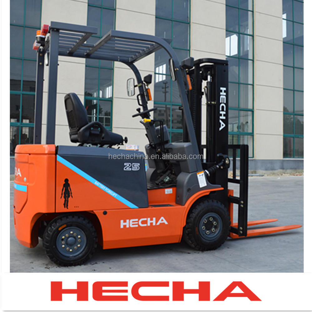 heli new battery forklift ,4-wheel electric forklift price