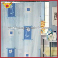 china factory direct sale ready made modern polyester shower curtains,european curtain fabric