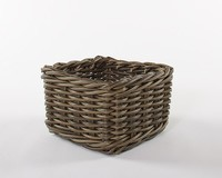New Model Lovely Practical Rattan Pet Basket