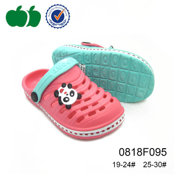 new design children high quality eva garden clogs