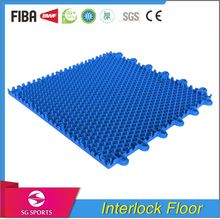 SG Sports Manufactured Polypropylene Outdoor Plastic Basketball Court Floor