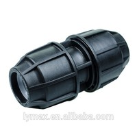 PE Material Plastic Thread Compression Fitting for Poly Pipe
