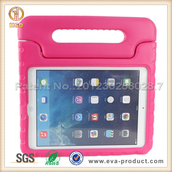 For Apple iPad Air 2 Hard Plastic Protective Case with Handle Stand