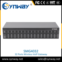 Best price of 16 Ports 64sim gsm voip gateway newest products With ISO9001 Certificate