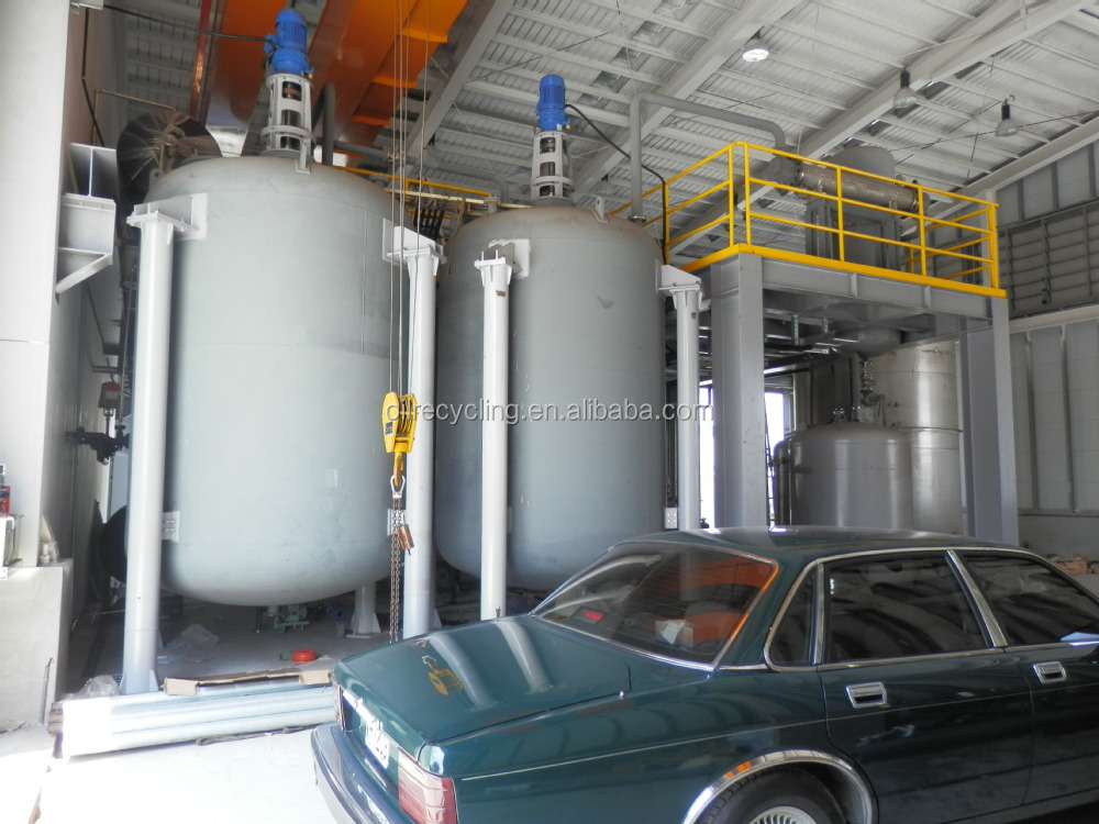 Waste motor oil convert to diesel oil distillation plant for Waste motor oil to diesel