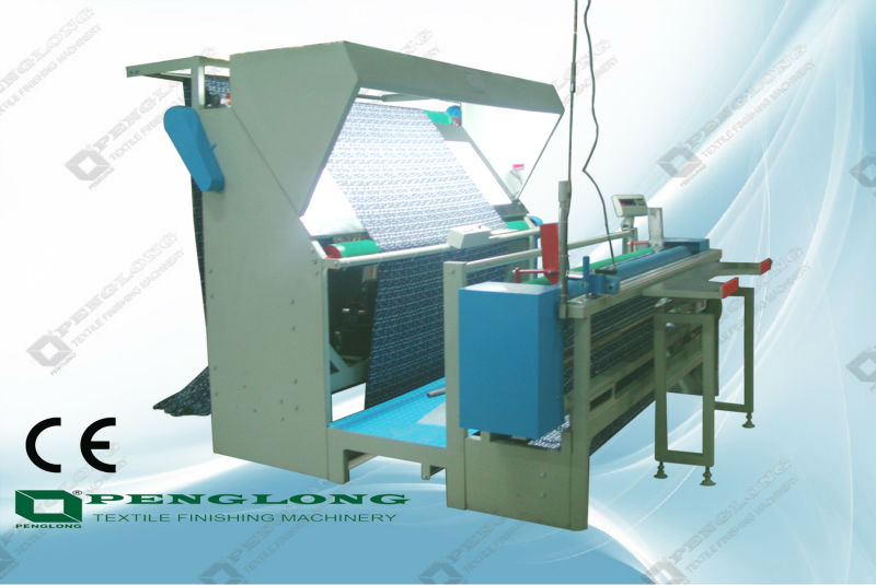 Manufacturer Tatting Fabric Inspection Machine measuring machine rolling machine