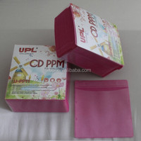 UPL Super thick CD/DVD Storage Sleeve, 12mm Colorful Double pp bag for CD/DVD Media Discs Storage PP11