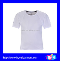 OEM blank dry fit sport shirt wholesale short sleeve plain cheap dry fit mans t shirts 100% polyester dry fit shirts