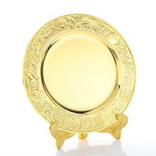 Manufacturer sale custom logo decorative blank souvenir award plate