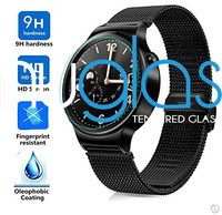 For huawei Smart watch! High transparent Anti-fingerprint 0.33mm 9H full cover tempered glass screen protector for Huawei Watch