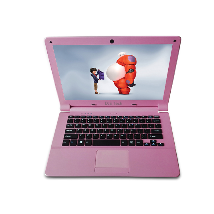 Mini Handle laptop with new style of black/white/pink 11.6 inch laptop