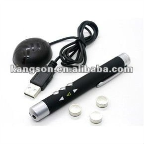 Factory Direct Price RC Laser Pointer With Slide Changer for powerpoint