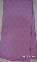MCL5080 lilac swiss cotton lace fabric african style use for wedding