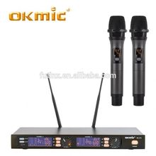 Best quality karaoke microphone wireless walkie talkie microphone