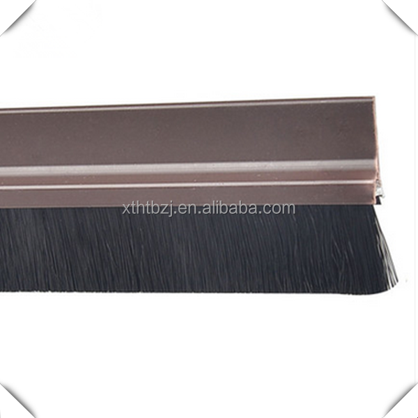 Fireproof strip brush mohair weather strip