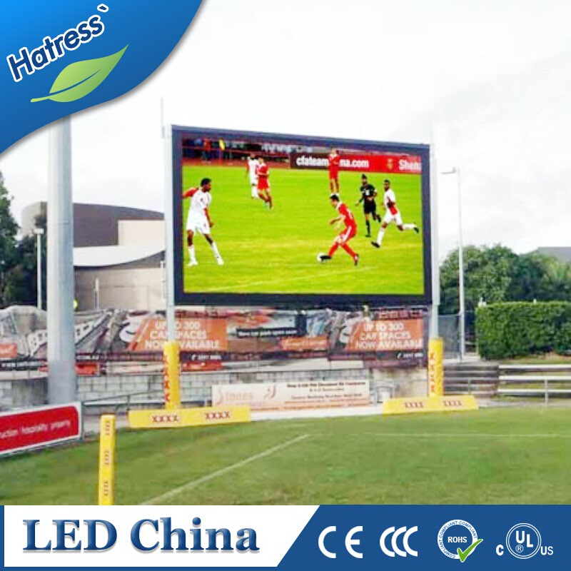 slim cabinet and energy savingP10 outdoor full color DIP 346 LED commercial advertising display screen