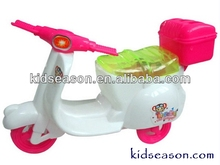 CANDY TOYS - PULL LINE MOTORCYCLE TOYS WITH FLASHING LIGHT
