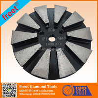 Freet Metal bond Medium concrete floor grinding disc 30/80/150 Grits