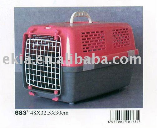 dog air carrier with wheels