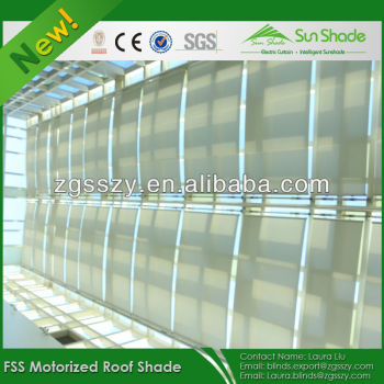 Motorized Skylight Blinds Shades