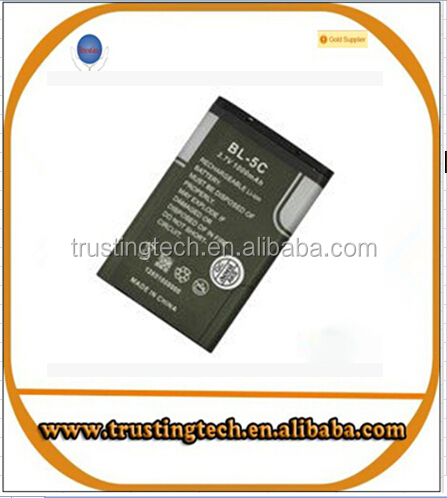BL-5C bl5c battery for noki 6600 N70 N71 N72 N91 E60 1020mah replacement cellphone battery