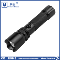 D20 led battery free aluminum pen flashlight