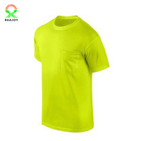 Hot Selling Short Sleeve Fluorescnet Color