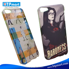 Manufacturer Sell 3D Blank Sublimation Tablet Case for iPod Touch 5 of Low Price