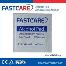 FastCare Alcohol Cleaning Pad CE FDA 2