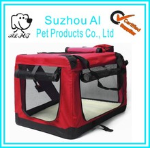 Wholesale Portable Soft Indoor Outdoor Dog Carrier Washable Travel Pet Crate