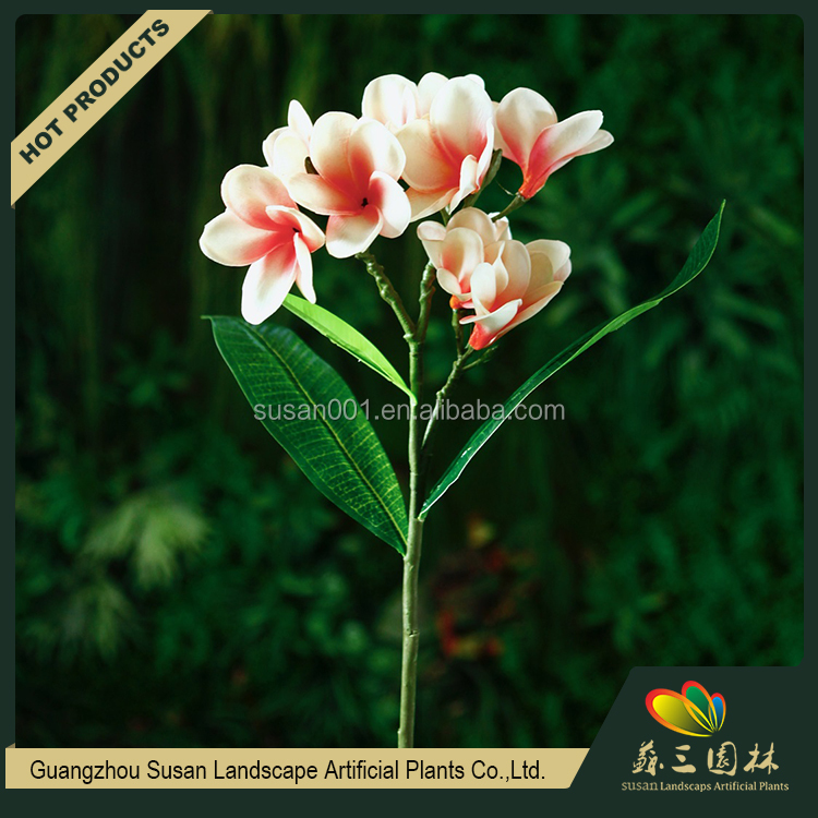 Butieaful custom hobby lobby artificial plumeria flower real touch plumeria for decoration