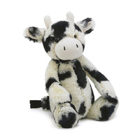 OEM custom cute cheap plush stuffed animal toys milk cow