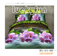 Microfiber printed bed sheet polyester sexy bedding sets bed sheets pictures