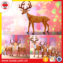 Cheap soft animals toy cute deer plush toy baby deer stuffed toy for Christmas