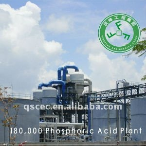 Phosphoric acid plant